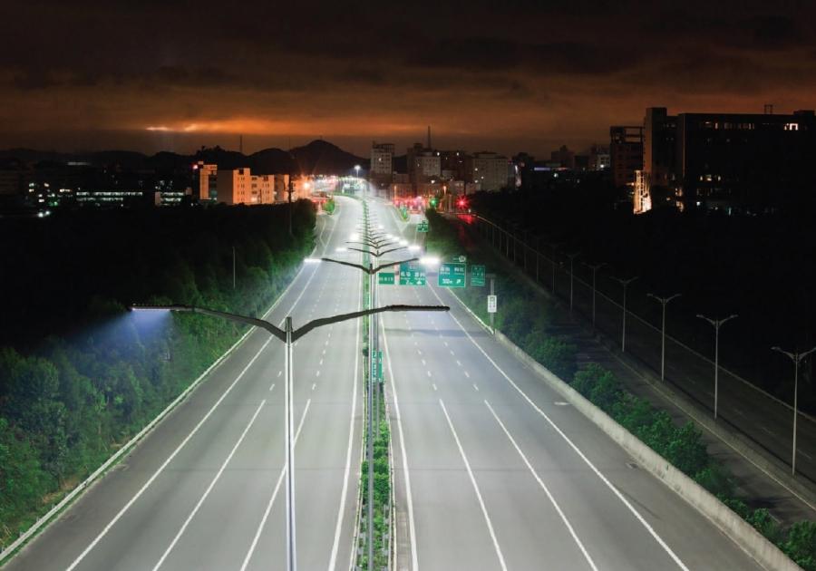 Iluminación de carreteras
