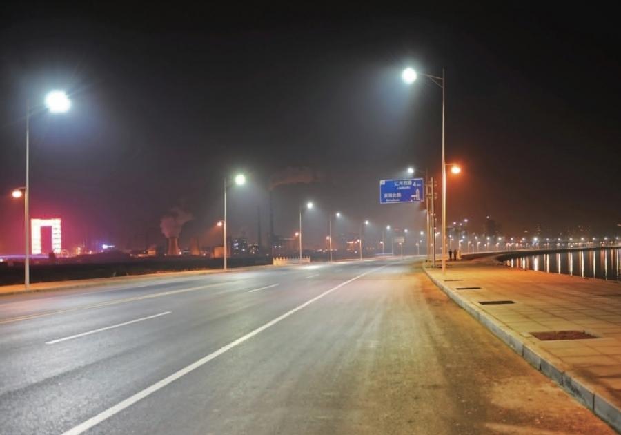 Iluminación LED de carreteras urbanas