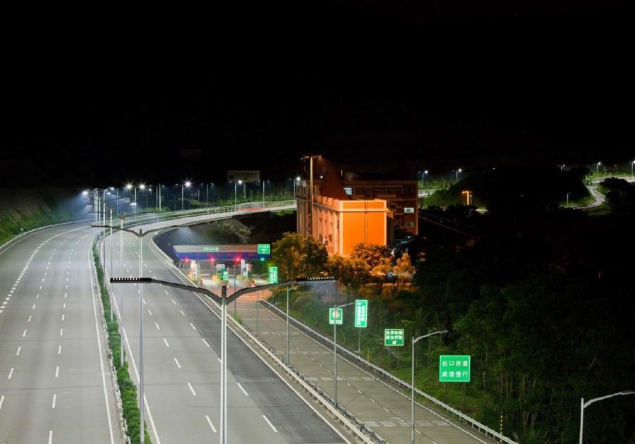 Iluminación de autovías